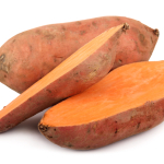Bone-Healthy Recipe: Roasted Yams with Honey Walnuts and Raisins