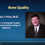 Dr. Charles T. Price Discusses Silicon For Bone Health