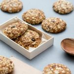 Bone Building Seed and Oat Cluster Cookies