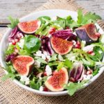 Autumn Arugula Fig Salad
